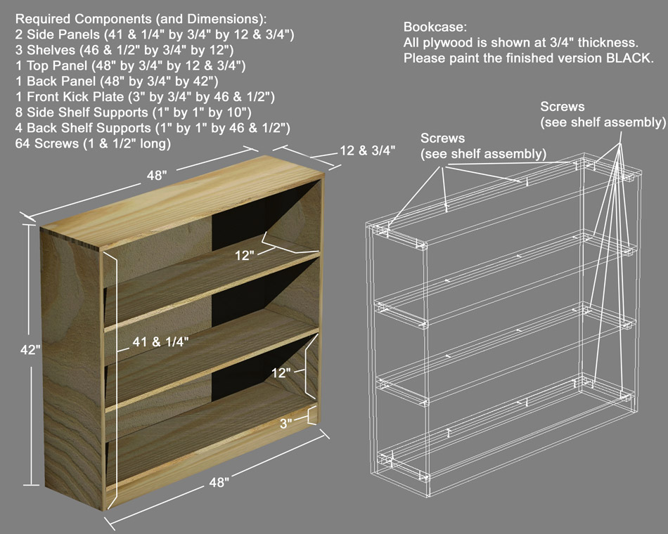 Shelf Plans Computer Graphics Illustration Nathan