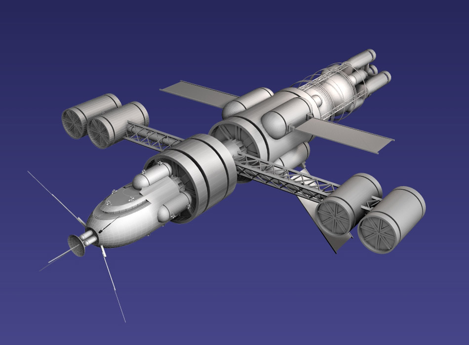 interplanetary spacecraft - photo #17